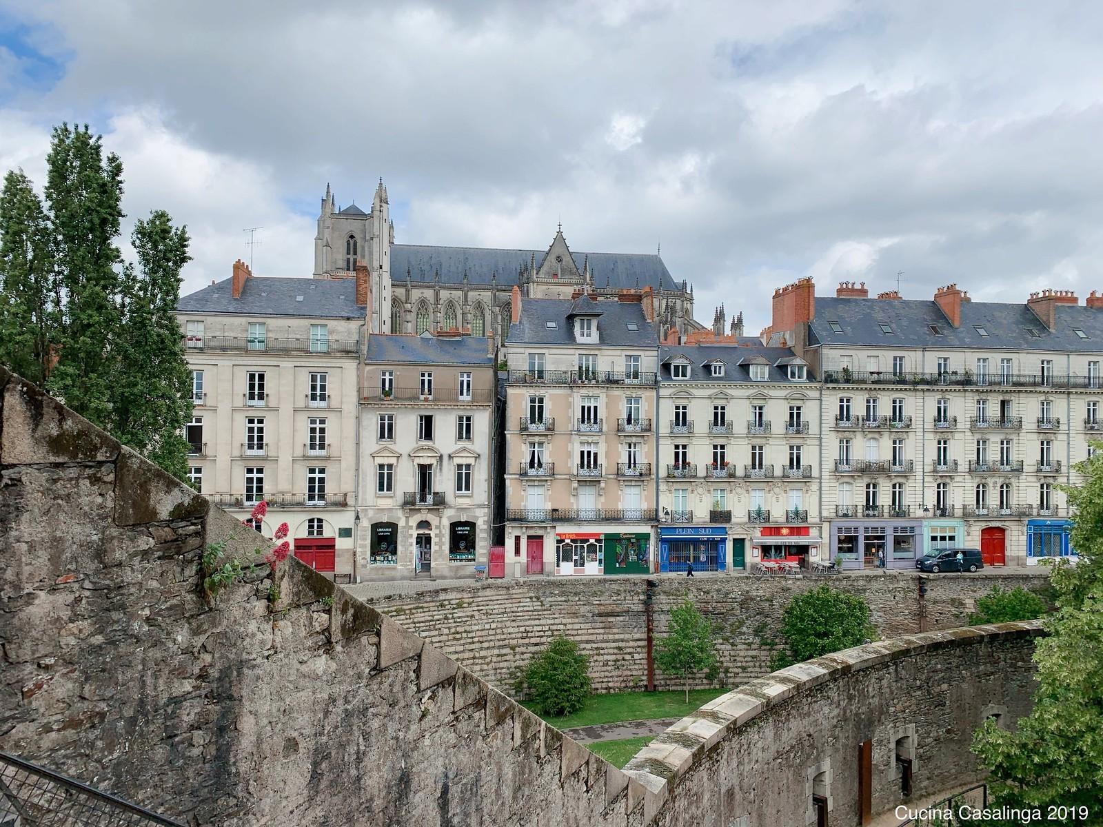 Nantes - Kathedrale vom Chateau