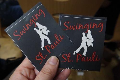 """Eintrittskarten für das Musical """"Swinging St. Pauli"""" in der Gesamtschule Schinkel"""