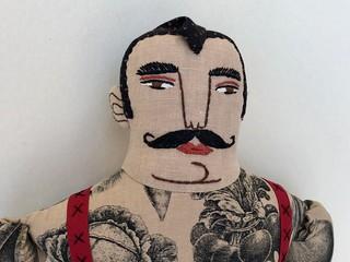 Farmer with a Mustache