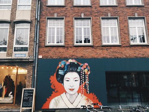 Arte urbano en Amberes