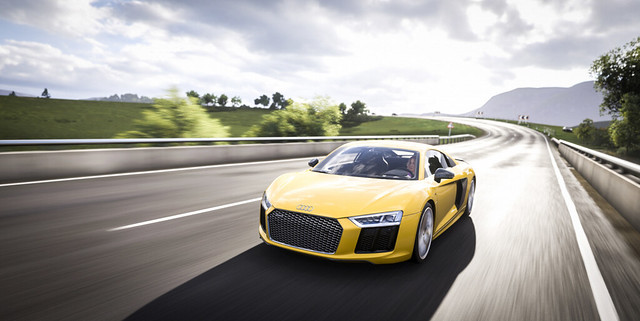 Audi. Track. Speed.