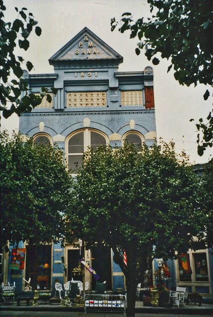 South Boston - Virginia - Walking Tour - 209 Main Street:  Planters & Merchants Bank