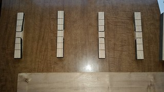 Blocks and bands to make bookmatched panels. | by Slate Creek Dulcimers