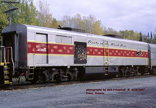 (SEE & HEAR)---AC 78 ex-PB1 Franz, Ont 9-28-2007