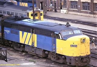 VIA 6765, Toronto, ONT. 8-13-1984
