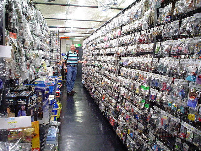 Toy Hunt Japan 2006 - Gashapon Shop 02