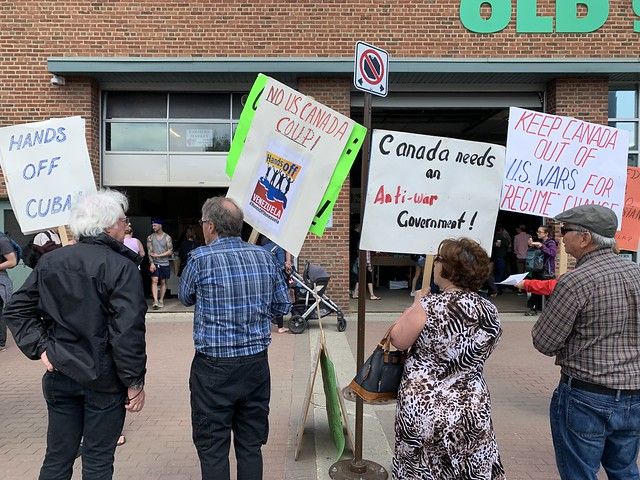 ECAWAR Peace Picket - June 22, 2019