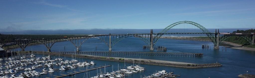 Yaquina Bridge - Newport, Oregon