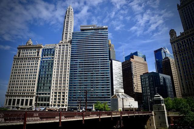 London House - Wyndham - Wabash Avenue Bridge Chicago IL