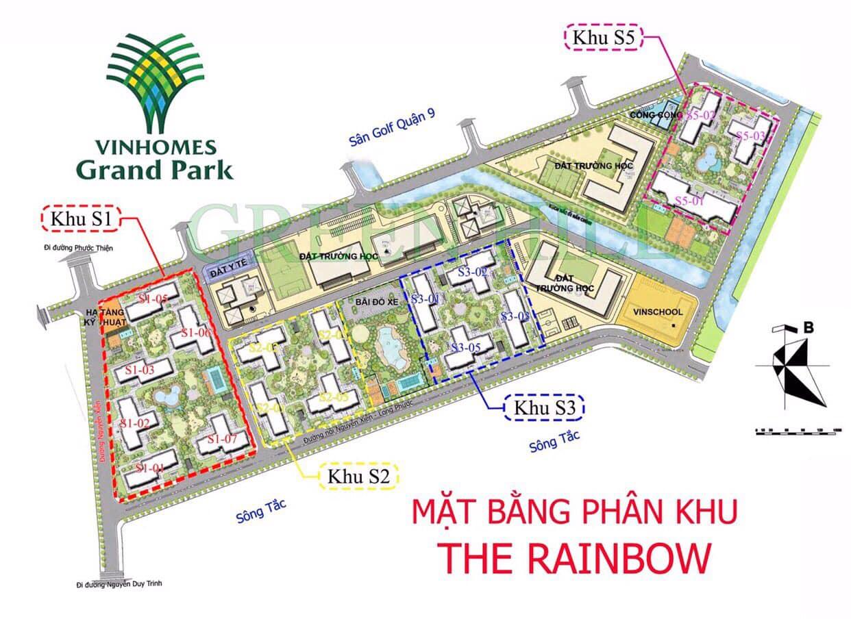 Phân khu S1 Rainbow sẽ mở bán trong giai đoạn 1