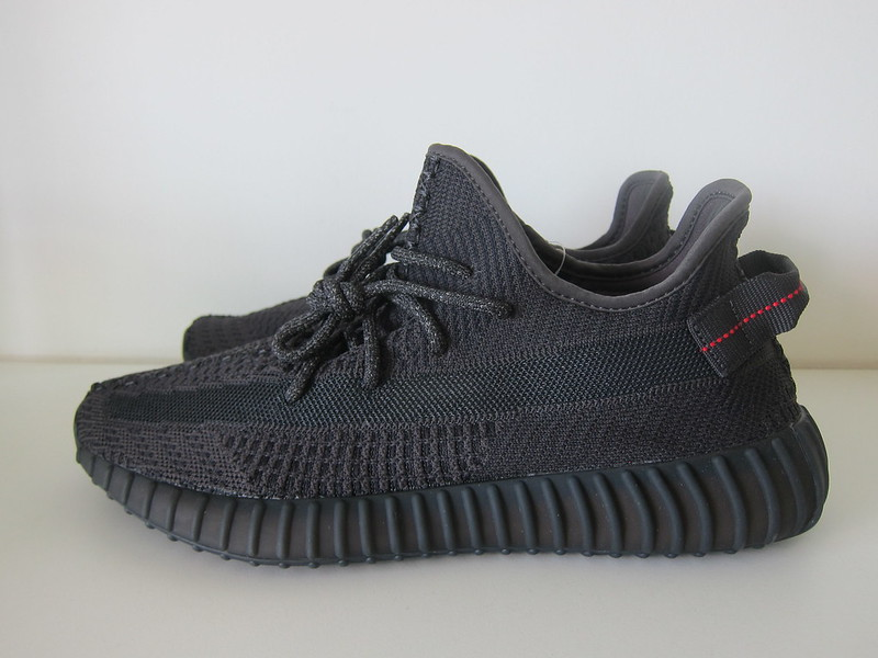 Yeezy Boost 350 v2 (Black) - Left