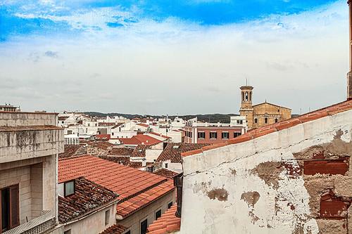 Tejados en Mahon  - Menorca -