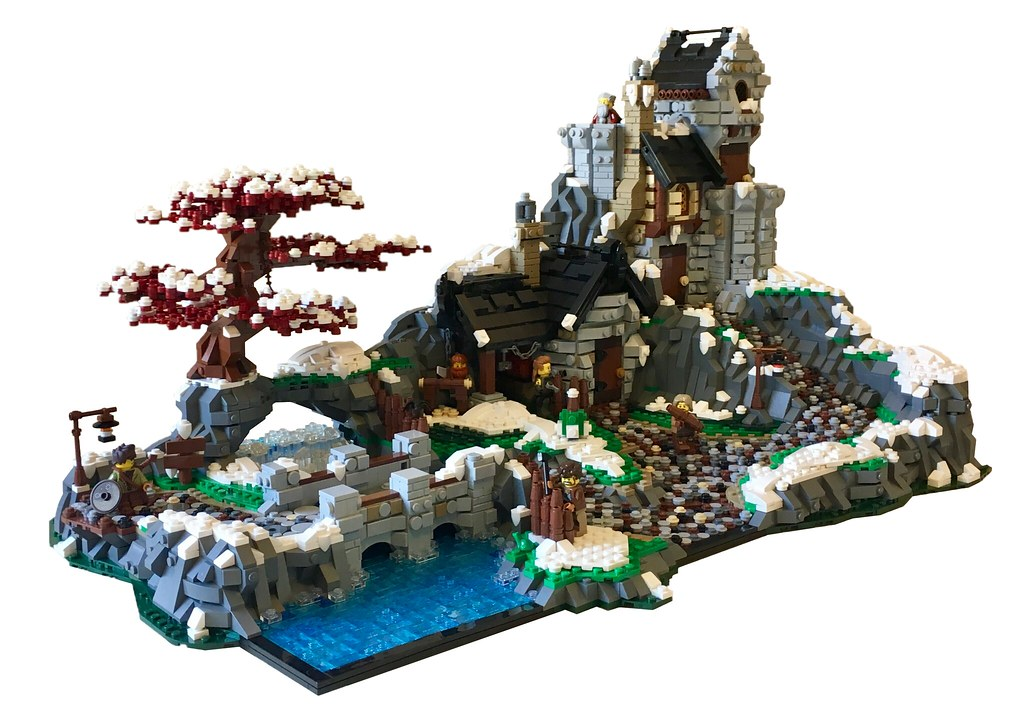 Valnötsträd (custom built Lego model)