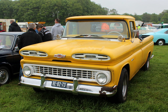 1961 Chevrolet Apache C10 pickup truck