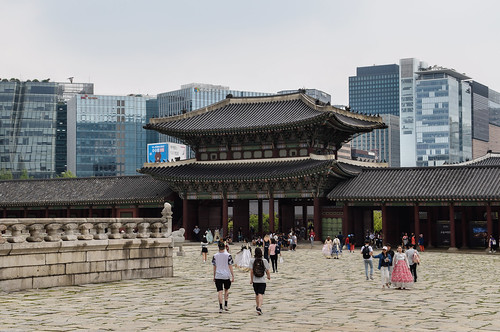 seoul southkorea gyeongbokgungpalace gwanghwamun