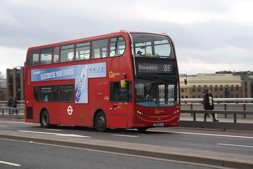 Go-Ahead London E195 SN61BJY