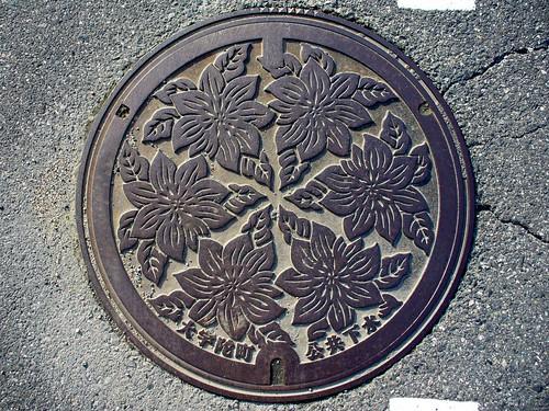Ouda Nara, manhole cover 4 (奈良県大宇陀町のマンホール4)