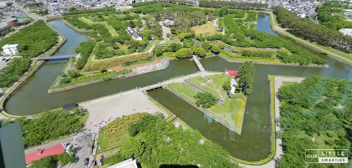 Old Fort Goryokaku
