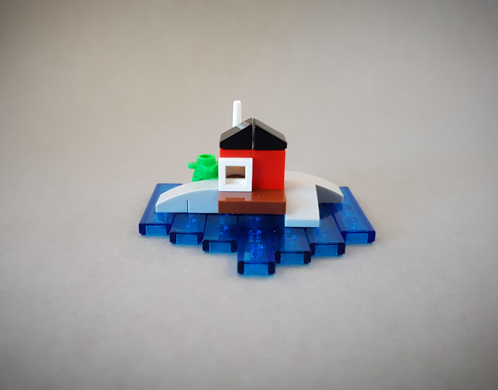 Archipelago Idyll MOC built for a Facebook mini challenge. (custom built Lego model)