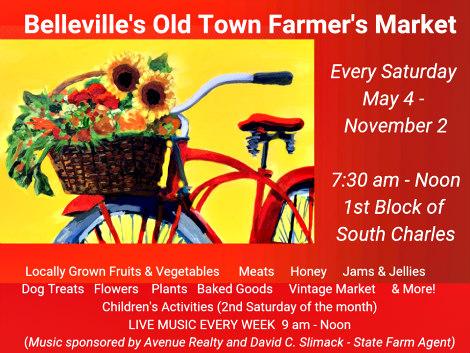 Belleville's Old Town Farmer's Mkt. 2019