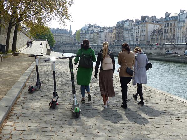 balade au bord de la Seine