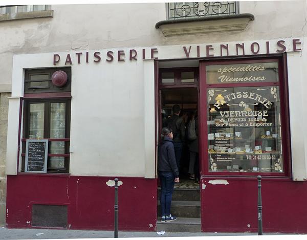 la pâtisserie viennoise