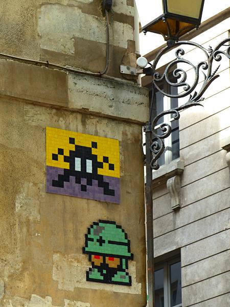 invader rue sévigné