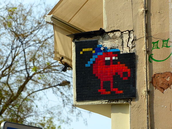 invader rue jean pierre timbaud