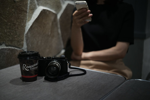 Leica CL & coffee