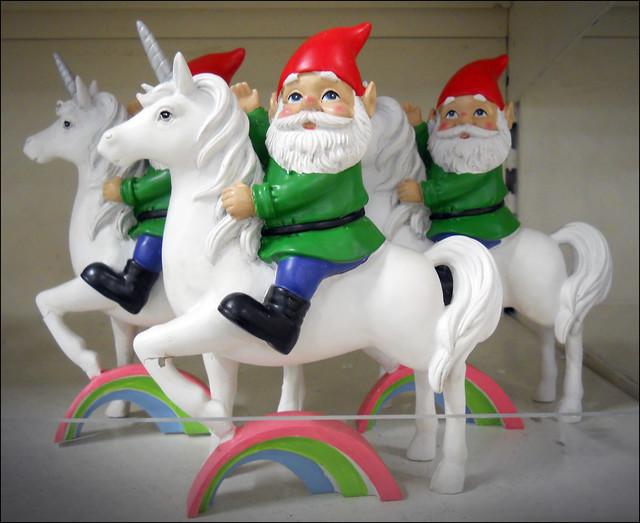 Just Gnomes on Unicorns. 2019.
