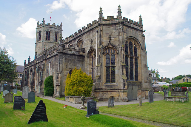 St. Margaret's Church, Hornby, Lancashire, UK