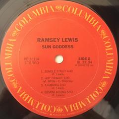 RAMSEY LEWIS:SUN GODDESS(LABEL SIDE-B)
