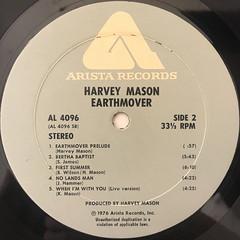 HARVEY MASON:EARTHMOVER(LABEL SIDE-B)