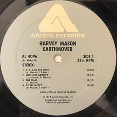 HARVEY MASON:EARTHMOVER(LABEL SIDE-A)