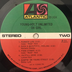 YOUNG-HOLT UNLIMITED:OH GIRL(LABEL SIDE-B)