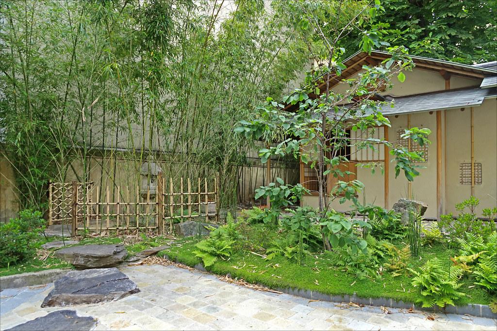 Japonesices — Le jardin de la Maison de thé (Hôtel d ...