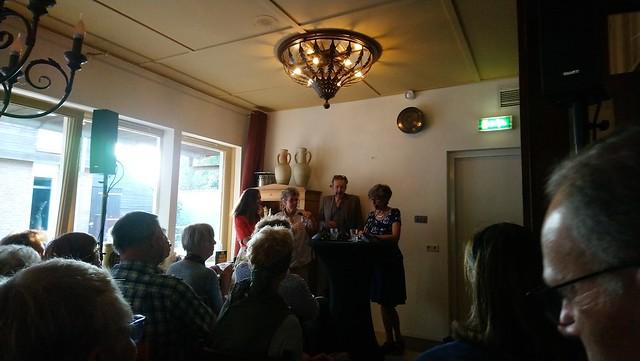 Michelle van Dijk, Sophie Kassies, Jan Rot en Annette Timmer