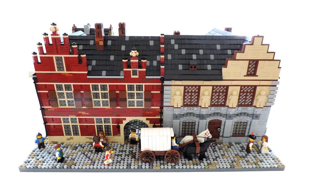 Sculptor's House (custom built Lego model)