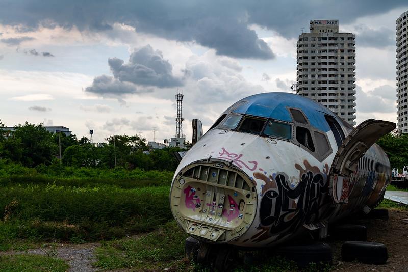 Aircraft scrap (MD-80)