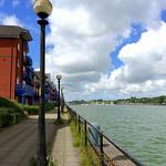 Walkway at Preston Docks