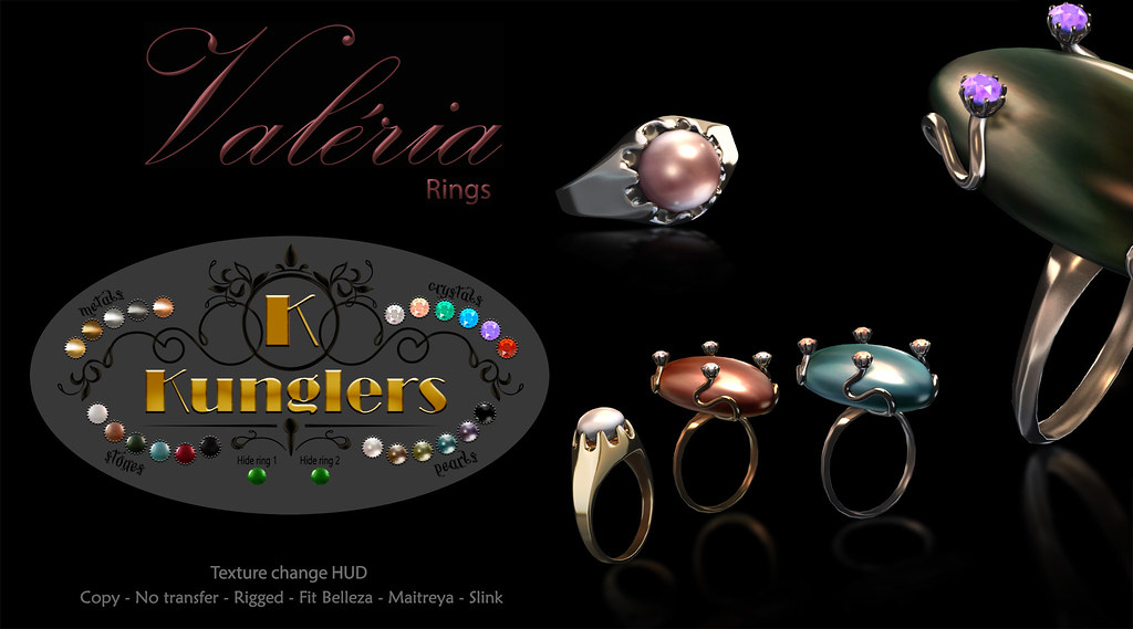 KUNGLERS – Valeria rings vendor
