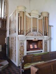 painted organ