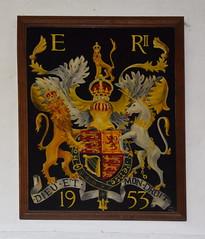ER II 1953 royal arms