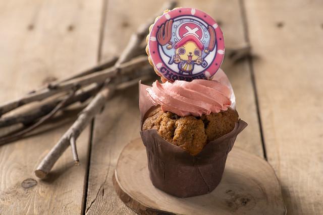 Chopper Raspberry Cupcake
