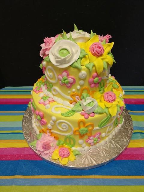 Cake by Morgan's Bakery