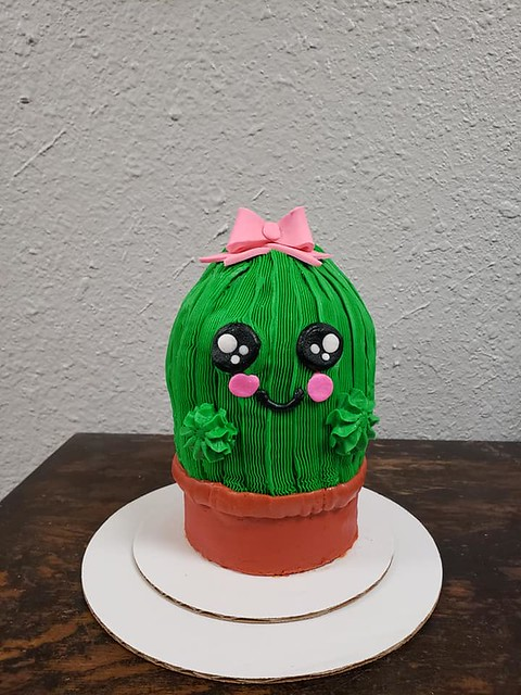 Cactus Cake by Ft. Gibson Bakery & Cafe