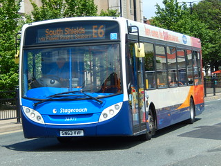 Stagecoach North East: 36971-SN63VVF