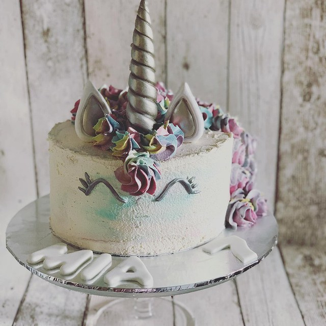 Unicorn Cake by The Cinnamon Bear - Cheshire