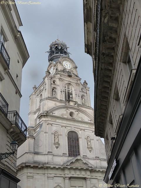 L'  Église Sainte-Croix de Nantes - Loire Atlantique  - Pays de la Loire -  France - Europe