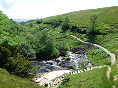 Ingleton Waterfalls Trail - above Thornton Force